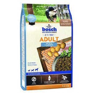 Bosch Tiernahrung Croquette Poisson/Pommes de Terre pour Chien Adulte 3 kg