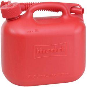 Rot Hünersdorff 813530 Nourrices à Carburant Standard 20L 20 l PE-HD Bleu Accessoire Rouge Homologation Nu