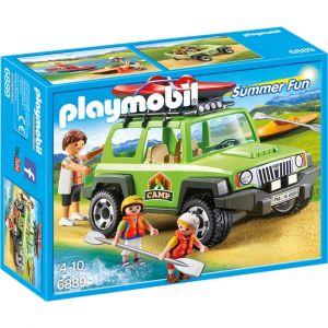 Playmobil 6889 - Voiture tout terrain familiale avec kayaks