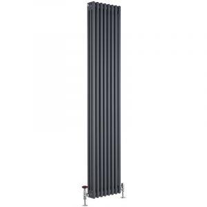 hudson reed radiateur vertical style fonte windsor 180 cm x 36 cm x 10 cm 1737 watts comparer. Black Bedroom Furniture Sets. Home Design Ideas