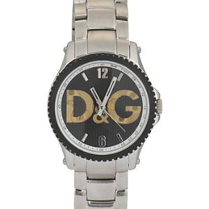 Dolce & Gabbana DW0708 - Montre mixte avec bracelet en acier