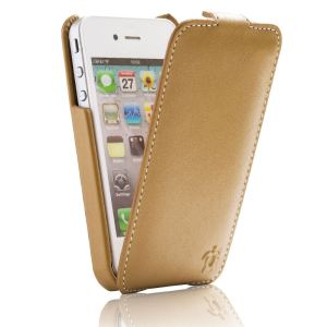 Issentiel Collection Prestige - Housse en cuir pour iPhone 4/4S