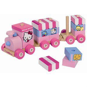 Eichhorn Train en bois Hello Kitty