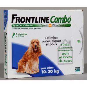 Image de Frontline Combo Spot-On Chien M 10-20 kg - Soin antiparasitaire