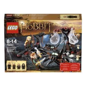 Lego 79001 - The Hobbit : Les araignées de la forêt de Mirkwood