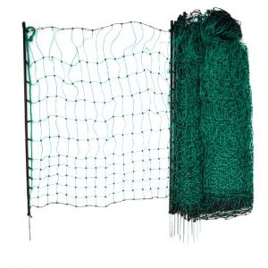 Kerbl Filet vert simple pointe pour volailles 112 cm x 50 m