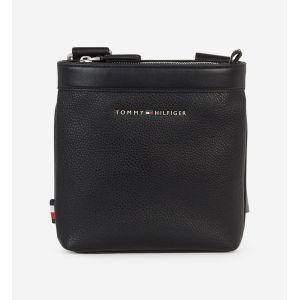 Tommy Hilfiger Sac à bandoulière effet grainé petit format Noir - Taille 20X19X5