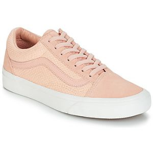 Vans Chaussures Woven Check Old Skool ((woven Check) Spanish Villa/snow White) Femme Rose, Taille 42