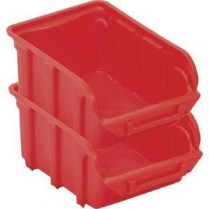 Bac à bec en polypropylene 330x155x205 rouge
