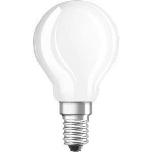 Osram Ampoule LED E14 4058075810341 en forme de goutte 4.5 W = 50 W blanc chaud (Ø x L) 45 mm x 110 mm EEC: classe A++ à