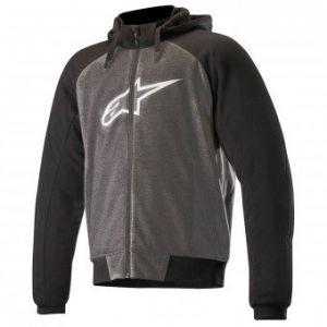 Alpinestars Blouson textile Chrome Sport gris/noir - S