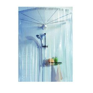 Spirella Rideau de douche en PVC (170 x 200 cm)