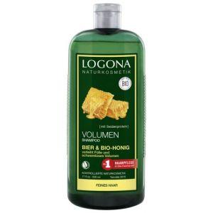 Logona Shampooing Volume Miel et Bière Bio 500 ml