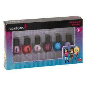 LGRI Vernis à ongles Fashion'z 6 flacons