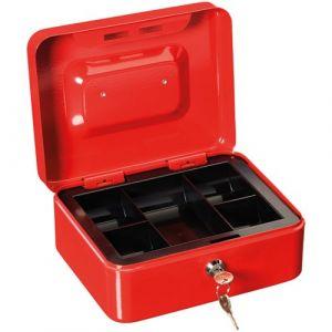 Burg-Wächter Caissette à monnaie CB 3 - rouge - Boîte à lettre, Coffret métallique