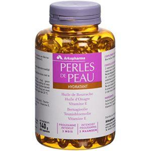 Arkopharma Perles de peau - Hydratant programme intensif 3 mois
