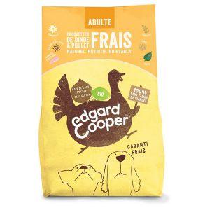 Edgard & Cooper Croquettes Dinde & Poulet Frais Bio sans céréale Chien Adulte 7 kg