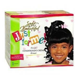 Just For Me No Lye Conditioning Crème Relaxer Kit