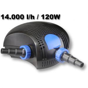 Sunsun CTF14000 14000l/h 120W SuperECO - Pompe de Bassin
