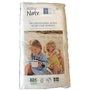 Eco by Naty Couches T3 4-9 kg - Paquet de 50