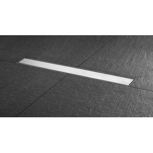 Caniveau complet pour douc à l'italienne BASIC DRAIN STEPS Longueur 80 cm (grille comprise)