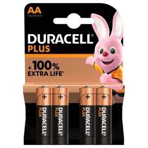 Duracell Pile AA X4 PLUS