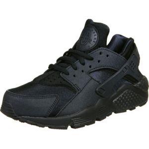 Nike WMNS Air Huarache Run, de Sport Femme, Noir (Black/Black 012), 35.5 EU