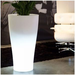 Vondom Pot Lumineux Curvada H100 LED Blanc
