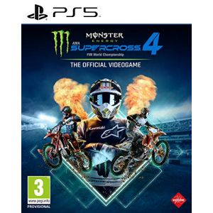 Monster Energy Supercross - The Official Videogame 4 (PS5) [PS5]