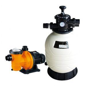 Groupe de filtration piscine : pompe Kalia + filtre MFV24 13 m3/h
