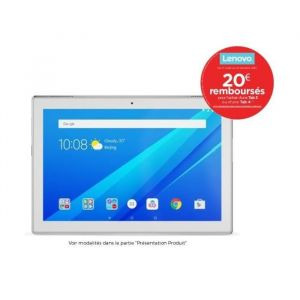 "Lenovo Tab4 10-X304F - Tablette Tactile 10.1"" 16 Go"