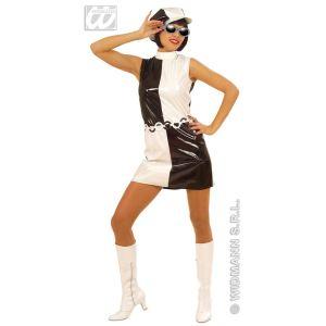 Widmann Déguisement années 80 disco rock pour femme (taille S)