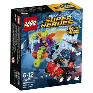 Lego 76069 - DC Comics Super Heroes Mighty Micros : Batman contre Killer Moth