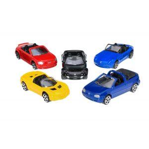 John World Coffret 5 petites voitures
