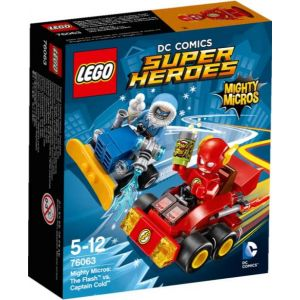 Lego 76063 - Super Heroes DC Comics Mighty Micros: The Flash vs. Captain Cold