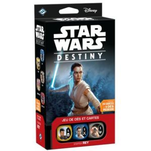 Asmodée Star Wars Destiny : Starter Rey