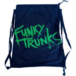 Funky Trunks Mesh Gear - Sac - vert/bleu Accessoires natation