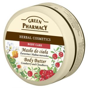 Green Pharmacy Herbal Cosmetics - Body Butter cranberry and cloudberry