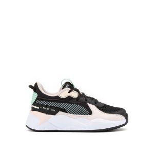 Puma Chaussure Basket RS-X Joy Kids pour Enfant, Noir/Rose, Taille 28, Chaussures