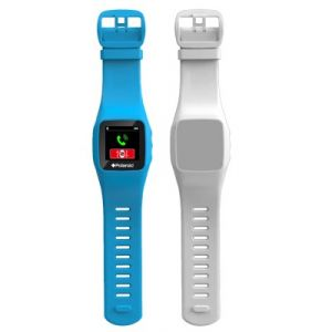 Polaroid Montre connectée Bluetooth MP4 avec 2 bracelets silicones
