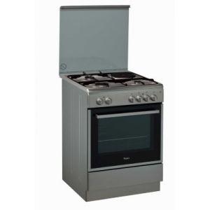 Whirlpool ACMK6433IX - Cuisinière mixte 3 foyers gaz avec four électrique