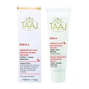 Taaj Paris Kerala - Crème éclat nuit