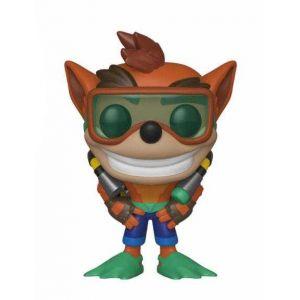 Funko Bobble heads - Crash Bandicoot POP! Games Vinyl figurine Scuba Crash 9