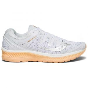 Saucony Triumph ISO 4 White Noise W Chaussures running femme Blanc - Taille 39