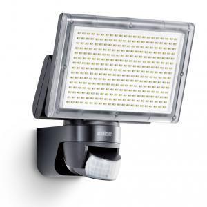 Steinel XLED home 3 Noir - Projecteur LED IP44 avec détecteur de mouvement 140°