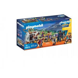 Playmobil Charlie avec convoi de prison The Movie - 70073