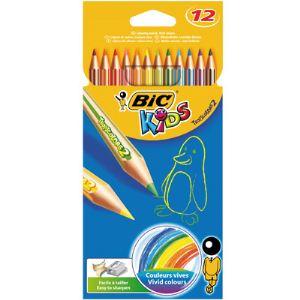 Bic Etui de 12 crayons de couleurs Tropicolors 2