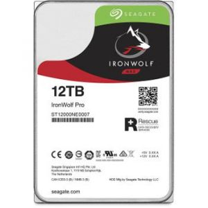 "Seagate IronWolf Pro 12 To (ST12000VN0007) - Disque dur NAS 3.5"" SATA III 7200rpm"