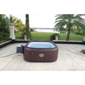 Bestway Lay-z-spa carré maldives hydrojet pro gonflable - 5/7 places