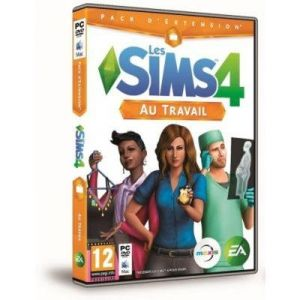 Les Sims 4 Au Travail add-on [PC]